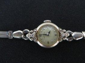 14k Gold Art Deco Watch