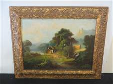Oil on Canvas French Signed Fitzmeyer