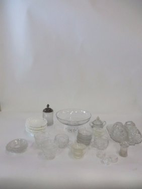 Dealers Lot Of China And Glass (approx 33 Pcs)