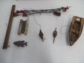 Vintage Fishing Gear Lot