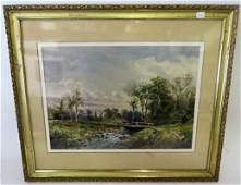 J. F. Cropsey. American Watercolor .