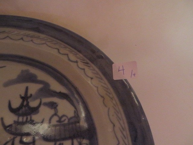 Canton Plates. C. 1800's (Four) - 4