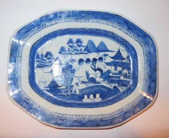 Canton Platter. C. Mid 1800's