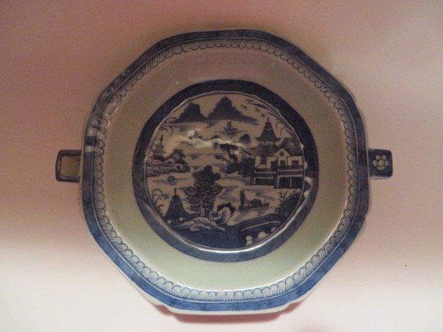 Canton Warming Dish. C. 1830