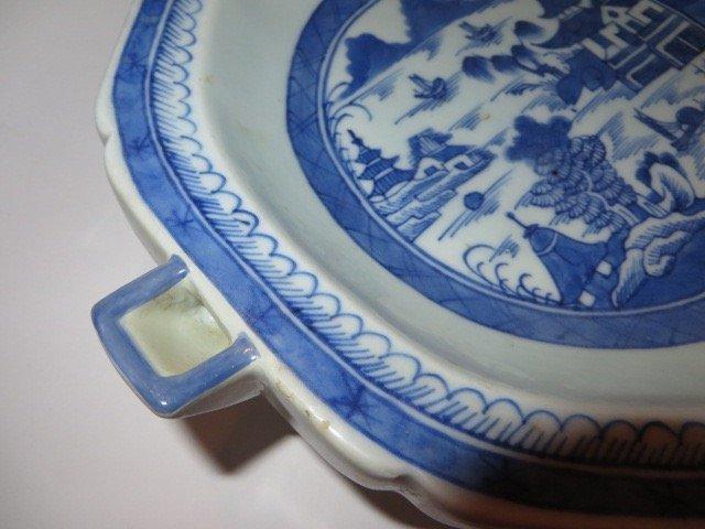 Canton Warming Dish. C. 1830 - 3