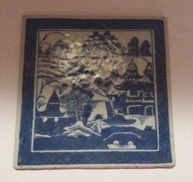 Canton Porcelain Tile C. 1830