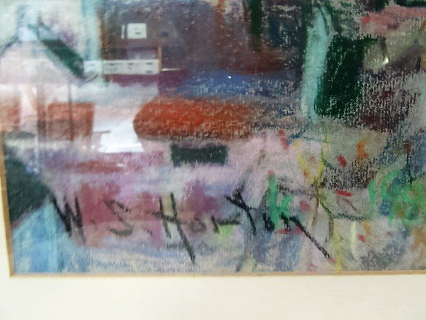 William S. Horton Pastel. Signed - 3