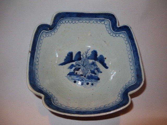 Canton Lotus Bowl c. 1830