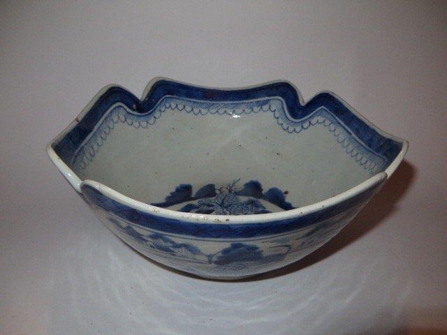 Canton Lotus Bowl c. 1830 - 2