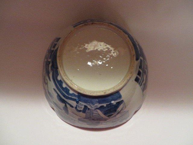 Canton Lotus Bowl c. 1830 - 3