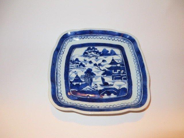 Canton Square Plate C. 1850 - 2