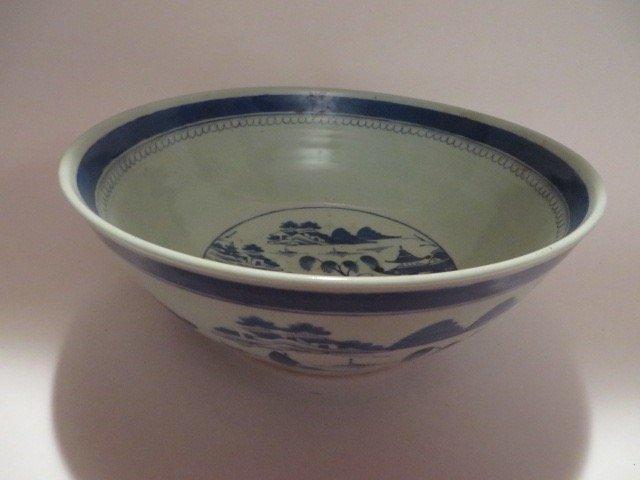 Canton Bowl C. 1840