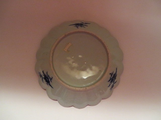 Foliated Canton Dish. C. 1875 - 2