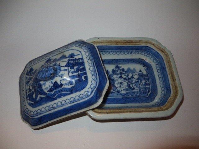 Canton Covered Dish. C. 1825 - 2