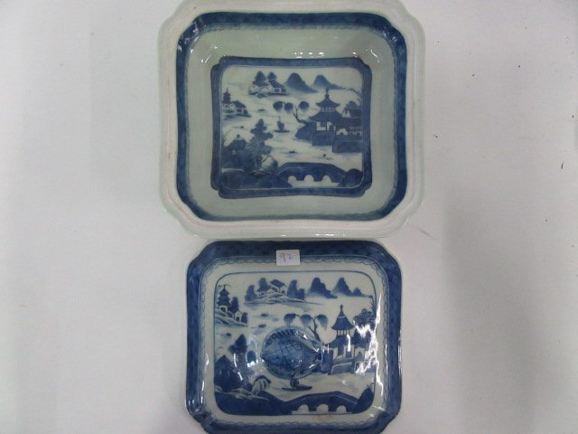 Chinese Canton Covered Vegetable Dish - 2