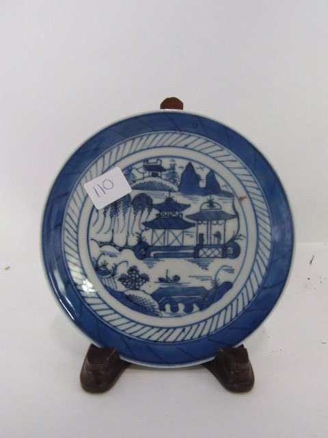 Small Canton Plate