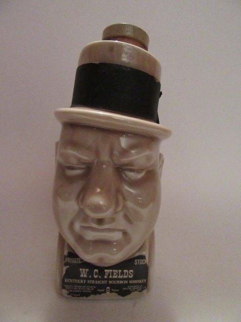 W. C. Fields Bourbon Whiskey Bottle