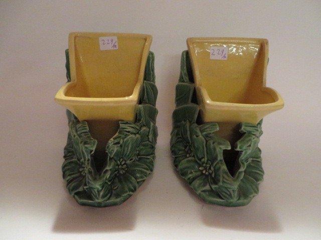 McCoy Vase-Bookends