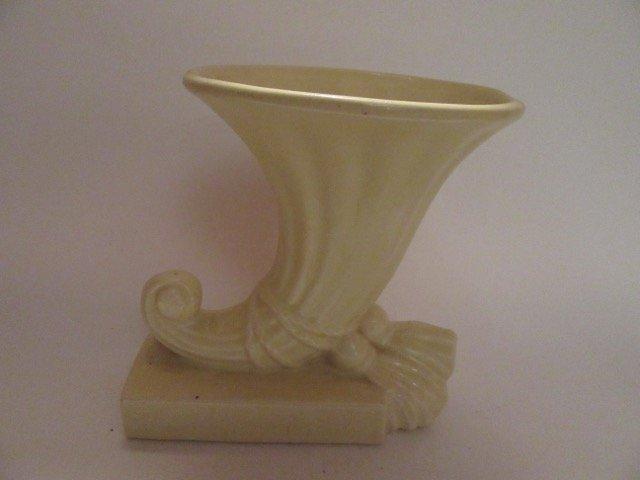 McCoy Cornucopia Vase - 3