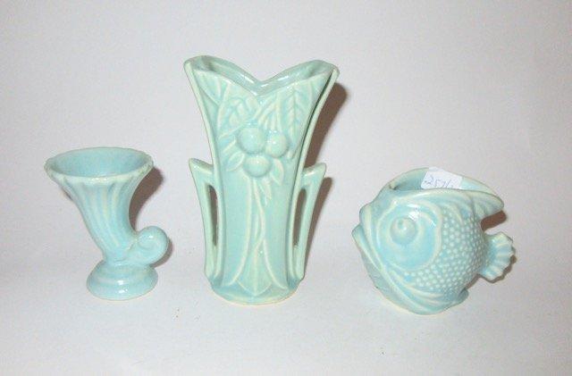 American Art Pottery Lot inc. McCoy (3)