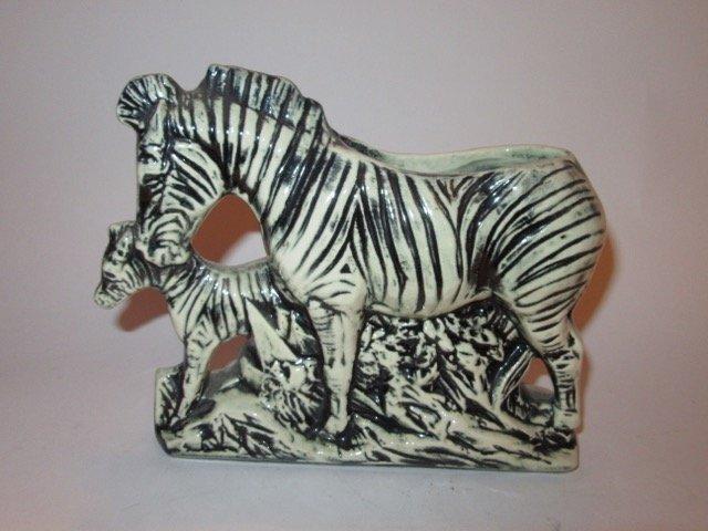 McCoy Zebra and Baby Zebra Planter - 2