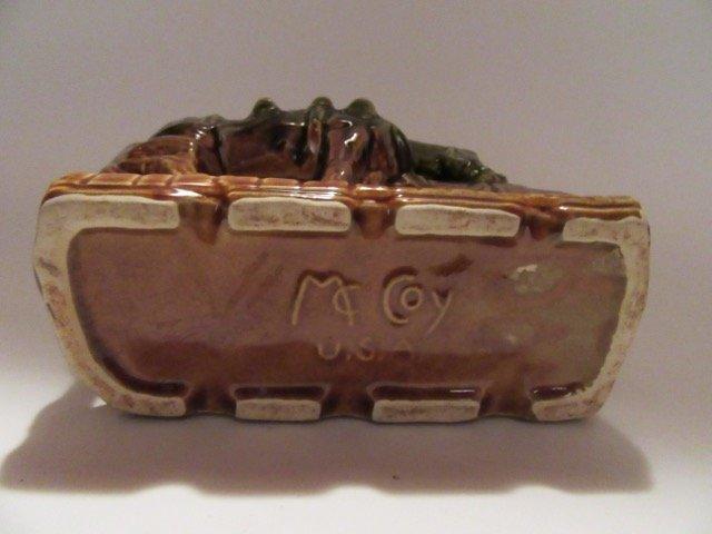 McCoy Western Planter. Signed. - 4