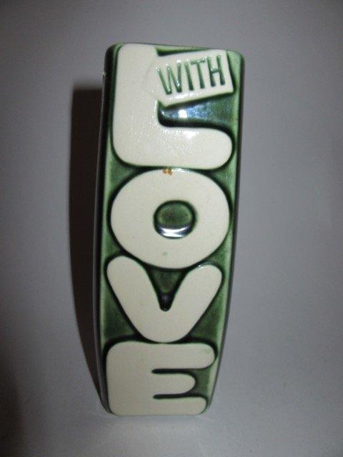 McCoy With Love Vase