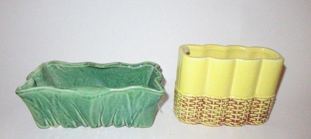 McCoy Vase and McCoy Planter - 2