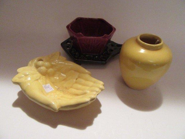 McCoy Pottery Lot (3)