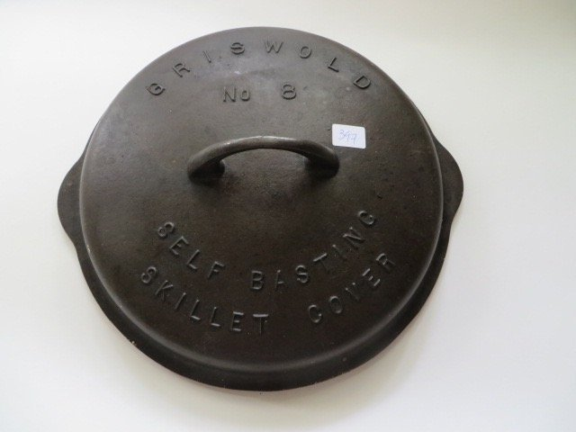 Griswold Cast Iron Self Basting Cover