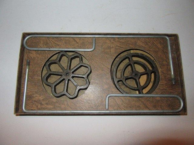 Custom Made Cast Iron Display Rack - 5