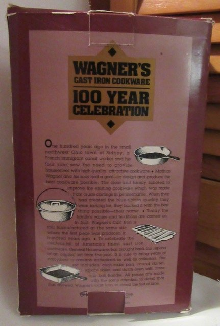 Wagner Ltd. Ed. Miniature Cookware Set - 2