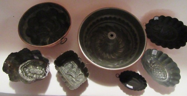 Coll. Of Copper Molds (7) - 3