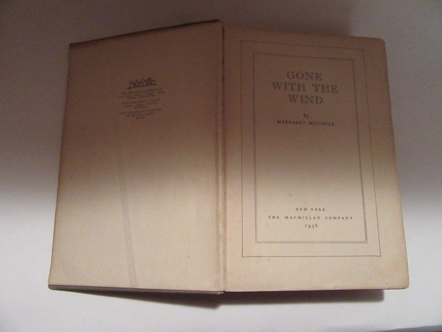 Mitchell. Gone With the Wind. First Ed - 6