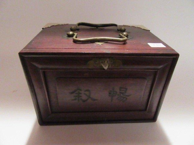Mahjong Set in Fine Oriental Case.