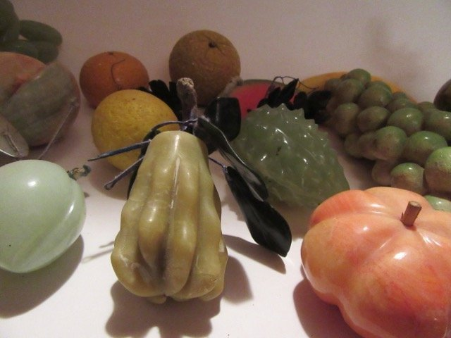 Glass Fruit- 14 pc. In the lot - 3