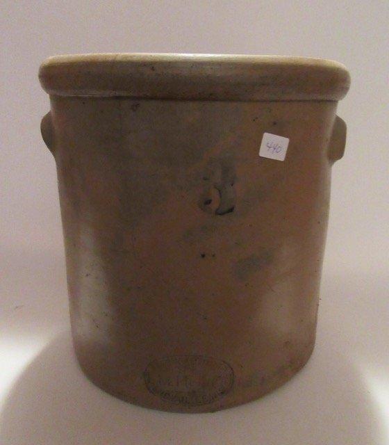 Stoneware Three Gallon Crock