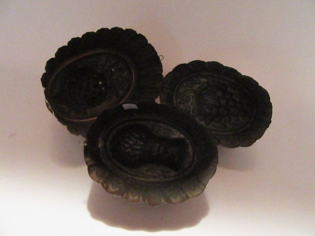 Antique Copper Molds (3) - 3