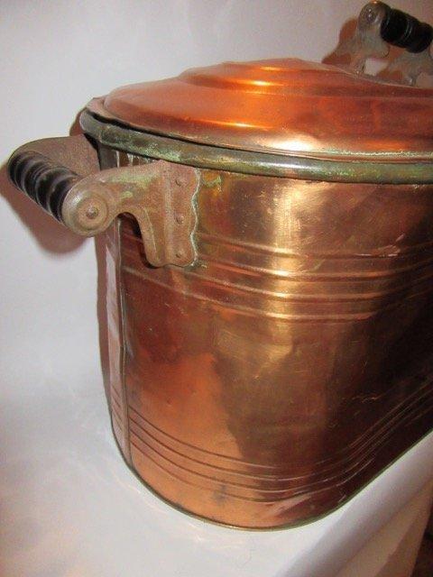 Antique Copper Boiler - 3