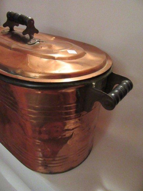 Antique Copper Boiler - 4