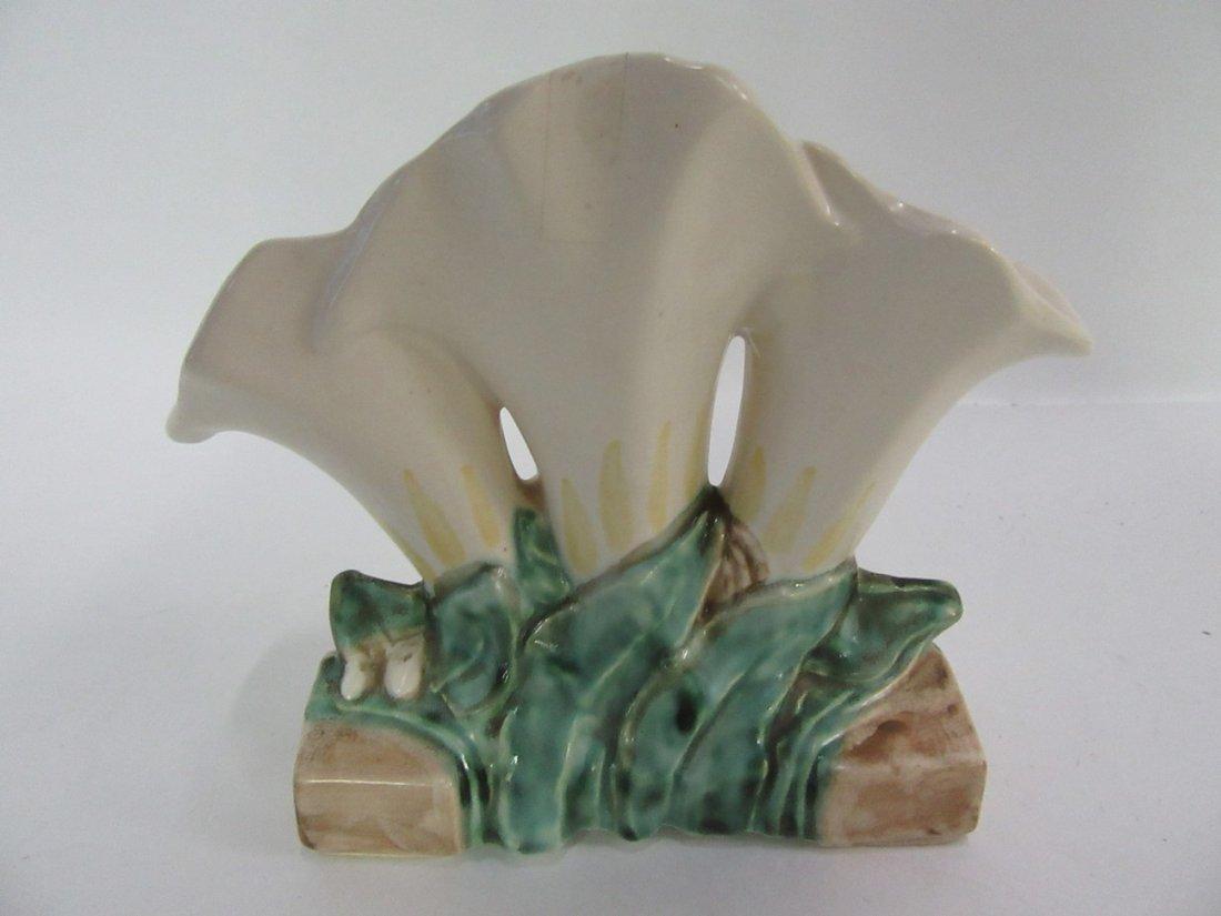 McCoy Triple Floral Vase