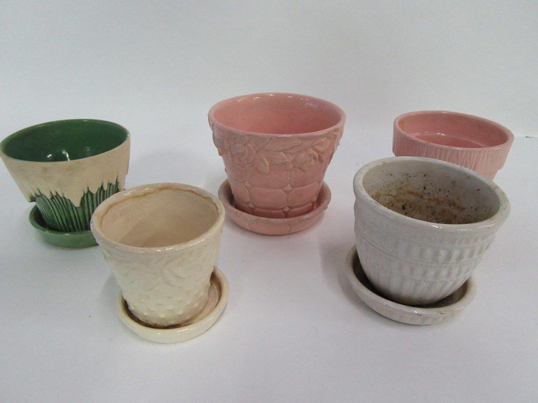 McCoy Flower Pots(5)