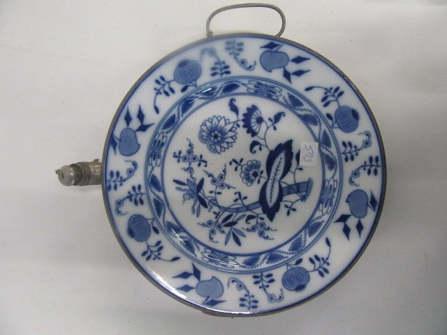 Blue Onion Warming Plate