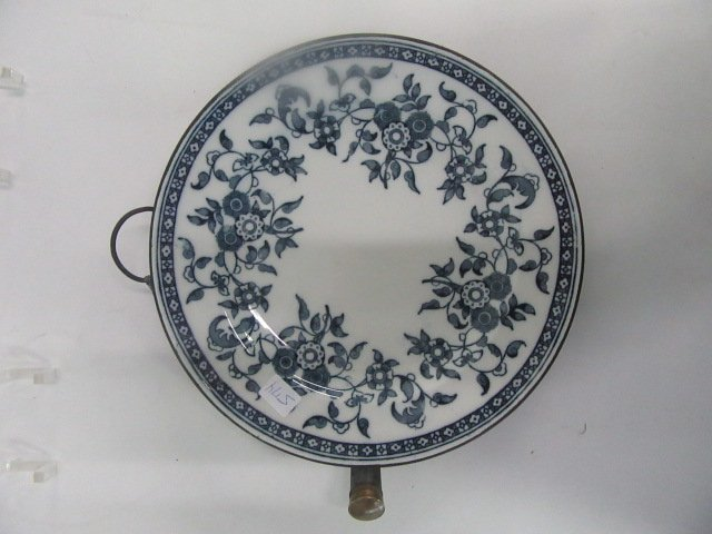 Floral Decorated Warming Plate