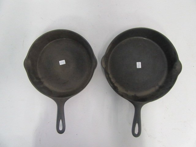 Wagner Cast Iron Skillets (2)