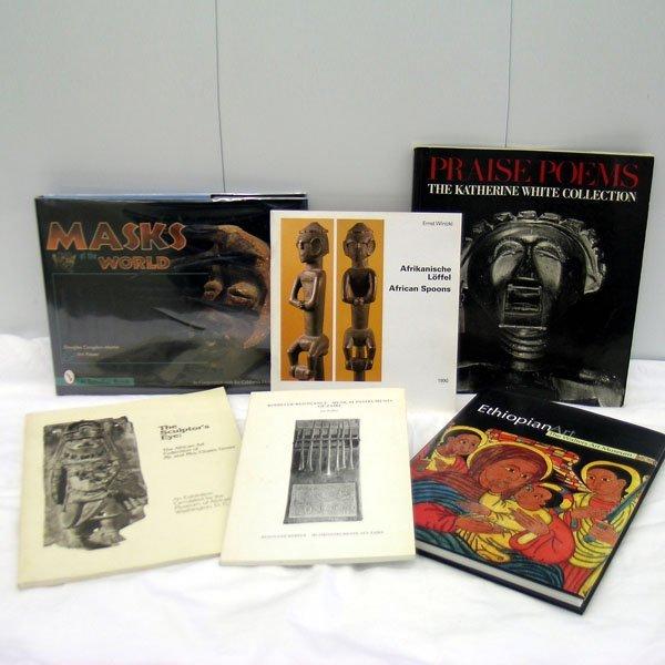 1: Six African Art Books