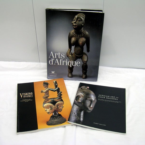 4: Three African Art Books