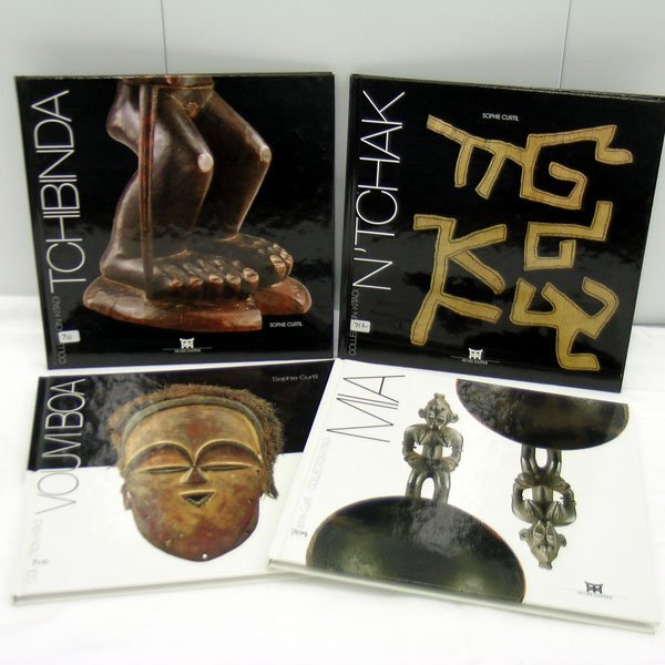 11: Four African Art Books by Sophie Curtil