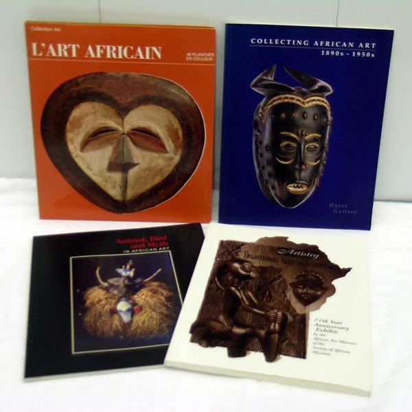 13: Four African Art Books