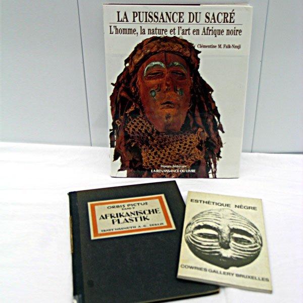 16: Four African Art Books